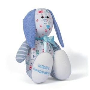 Keepsake bunny and memory bunny gift idea