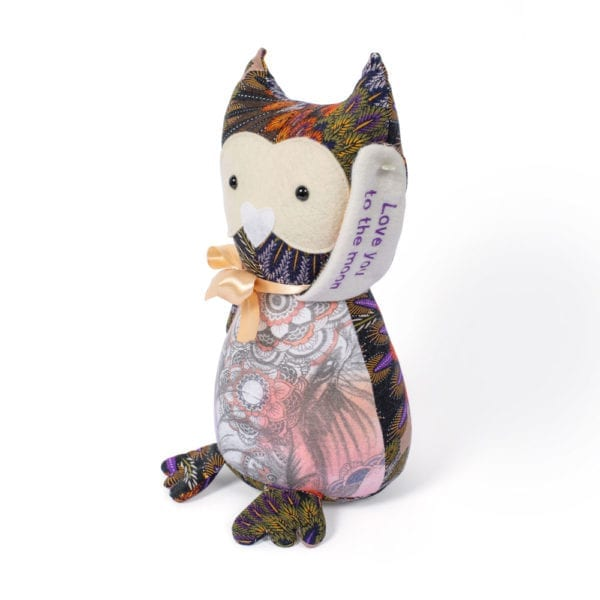 Keepsake Owl and Memory Owl from adult clothing