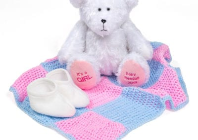baby gender reveal bear