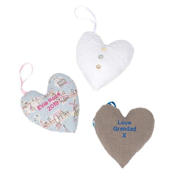 Heart keepsakes from your clothes