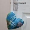 Keepsake Heart made from loved ones clothing