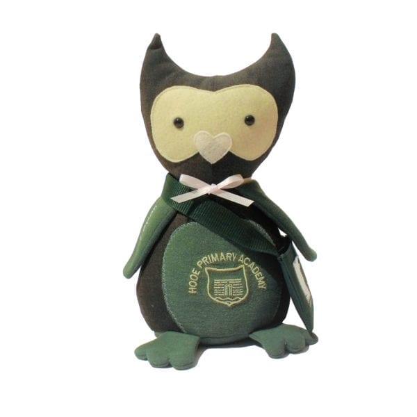 school uniform teddy owl