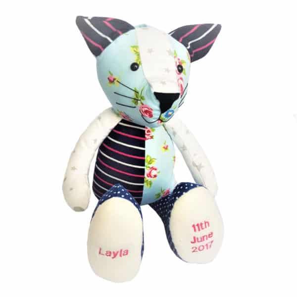 Keepsake Cat teddy