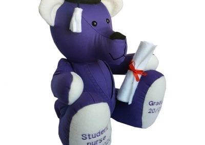 personalised graduation bear