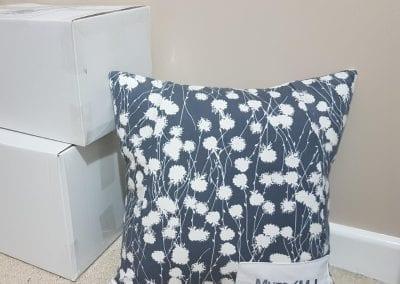 Keepsake Cushion Made From A Dress
