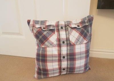 Keepsake Cushion - Shirt