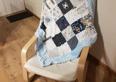 Memory Blanket - Baby boy