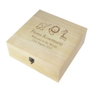 Baby Wooden Memory Box