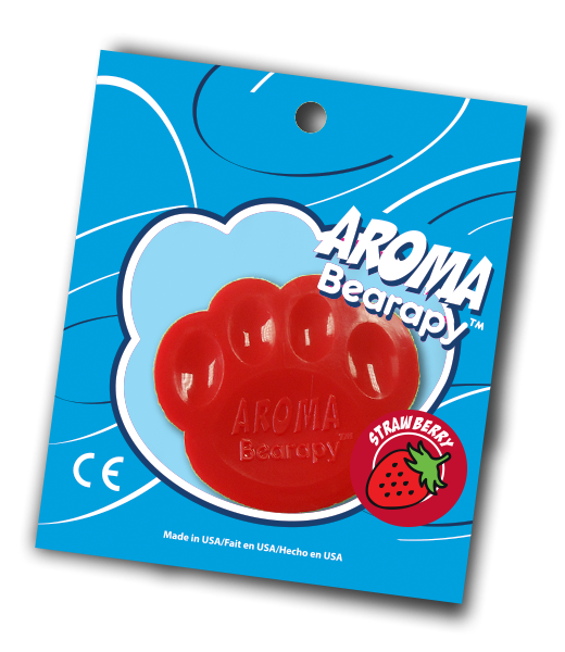 Aroma Teddy Scent Chip Strawberry