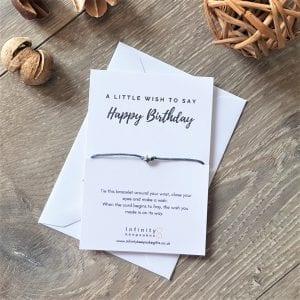 Wish Bracelet - Happy Birthday
