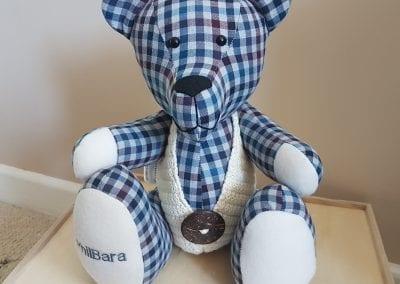 Memory Bear With Waistcoat