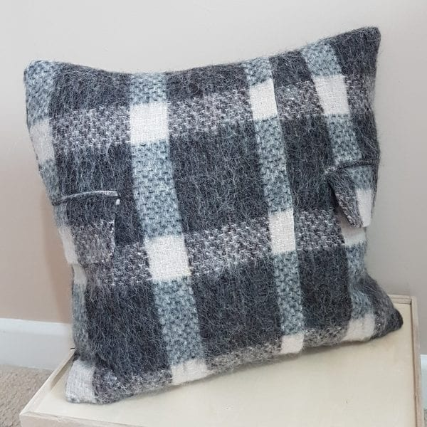 Memory Cushion Made From A Coat