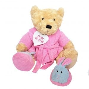 Pesonalised Bathrobe Teddy Bear