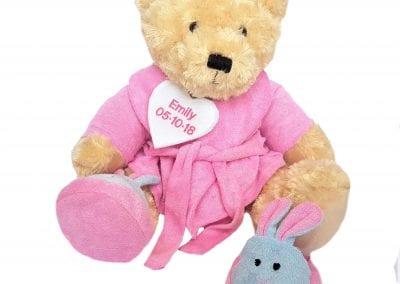 Pesonalised Bathrobe Teddy Bear