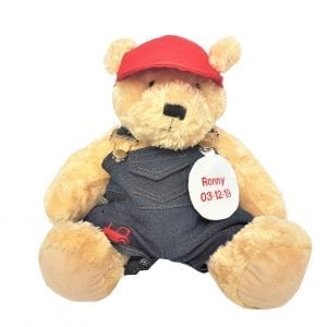 Personalised Teddy Bear - Farmer