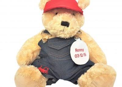 Personalised Teddy Bear - Farmer