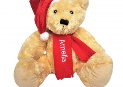 Personalised Christmas Teddy