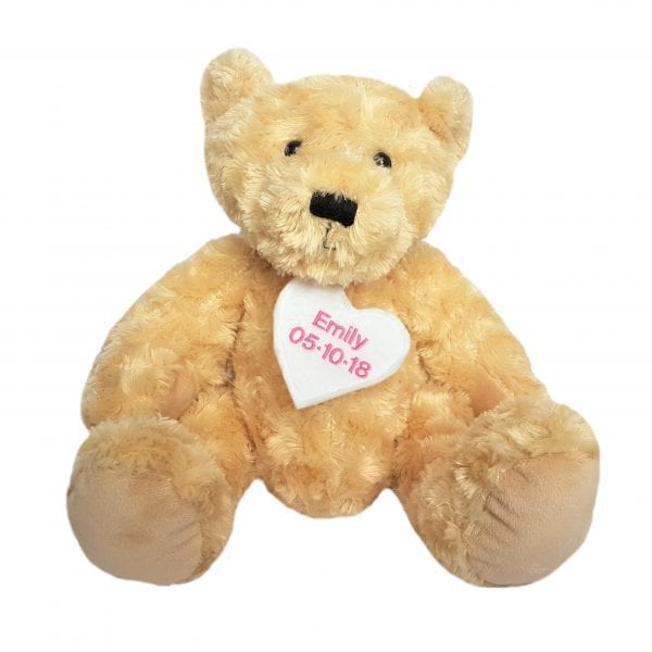 Pesonalised Teddy With Heart