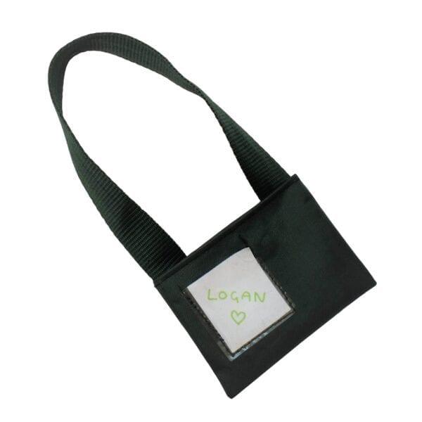 School Memory Bear - Image of the optional school satchel.