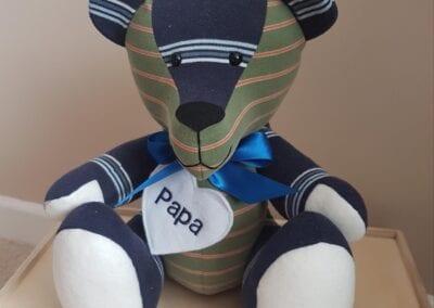 Memory Bear In Memory Of Papa