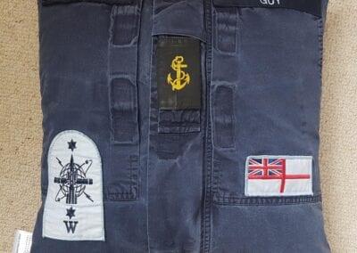 Memory Cushion - Navy Uniform