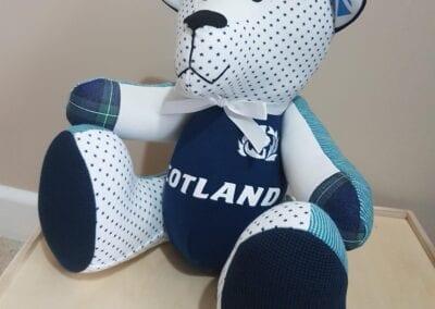 Scotland Memory Bear