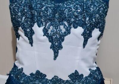 Custom Bodice Wedding Dress Cushion