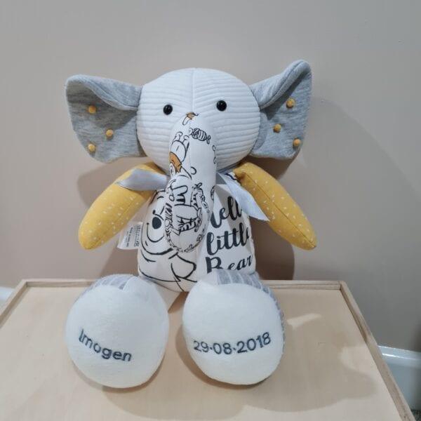 Keepsake Elephant - Baby Clothes
