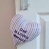Keepsake Heart made from a shirt