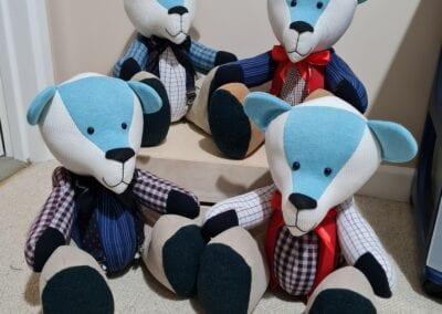 Memorial Memory Bear - Shirts, Trousers & mini Braces