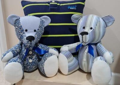 Memory Bear & Cushion