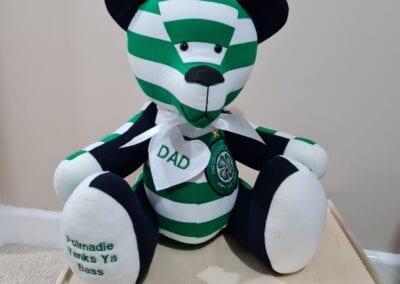 Memory Bear - Football Clothes
