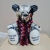 Memory Bear - Thick Knitted Scarf