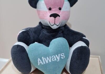 Memory Bear & keepsake Heart