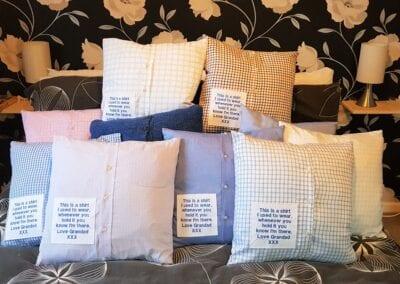 Memory Cushions - Shirts - Personalised