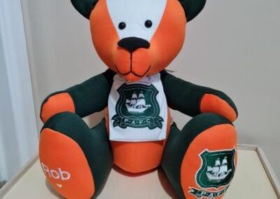 Plymouth Argyle Football Shirt Memory Bear