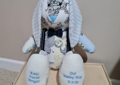 Weighted Keepsake Bunny