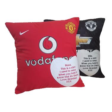 Keepsakes Football Shirt cushion