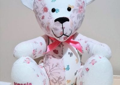 Memory bear - made from baby clothes