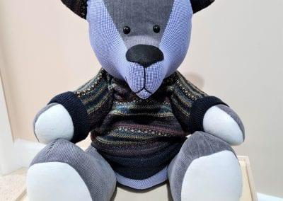 Memory bear wearing a jumper