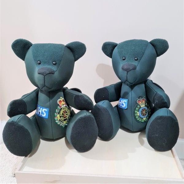 NHS paramedic memory bear