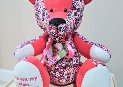Photo memory bear